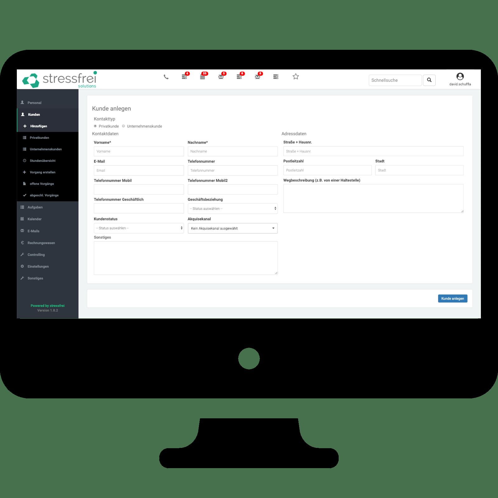 Modul Kundenverwaltung Digitale Losungen Mit Stressfrei Solutions