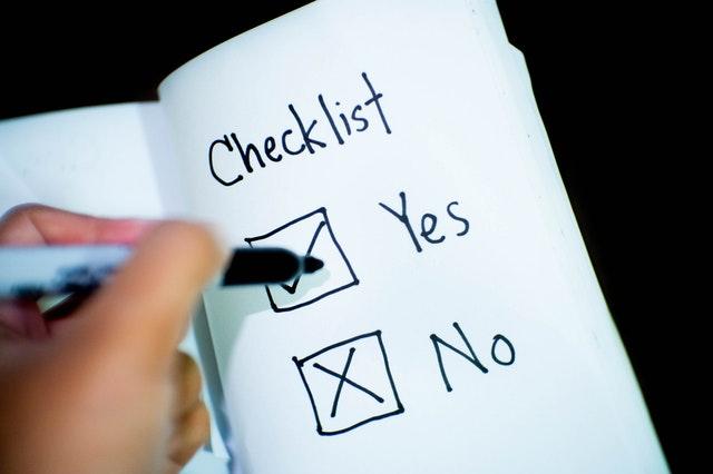 Checkliste erstellen