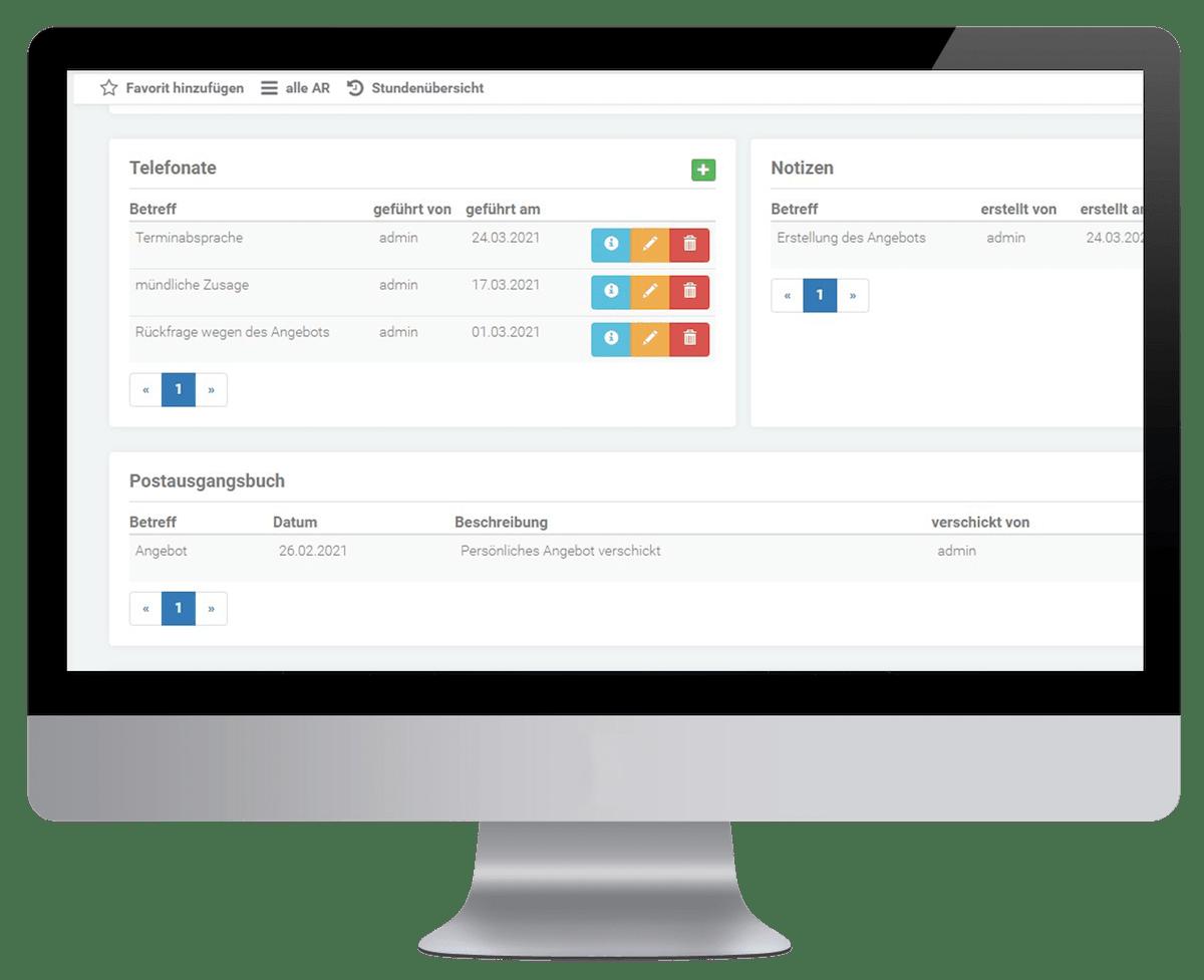 Modul Kundenverwaltung
